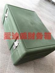 财务箱指挥作业箱绿色军工箱