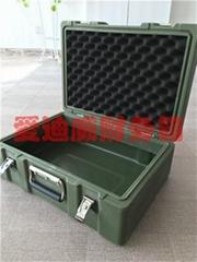 滚塑箱军事财务安全防护箱