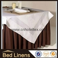 Hotel table cloth table linen cotton table cloth table cover