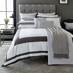 100%cotton jacquard bedding set hotel quality