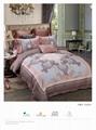 luxury reactive printed bedding set