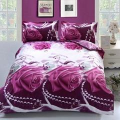 3d flower bedcloths bedspread cover let