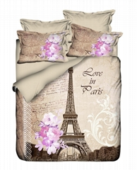 3d flower bedcloths bedspread cover let