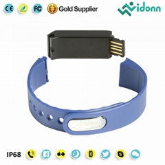 Vidonn X6S USB charging Smartband Bluetooth Smart Watch Pedometer Bracelet