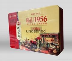 新款精品1956扒雞鐵盒包裝