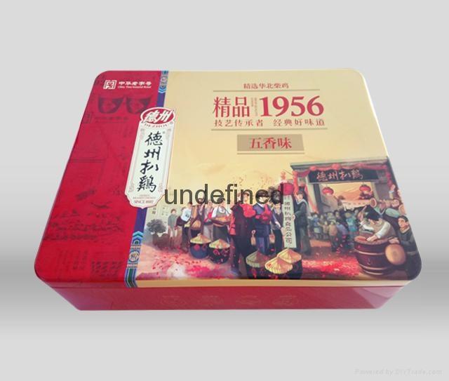 新款精品1956扒雞鐵盒包裝 2