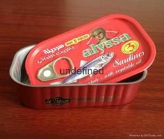 达仔鱼罐头铁罐包装盒