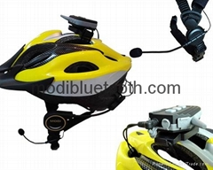 bicycle helmet headset team communication