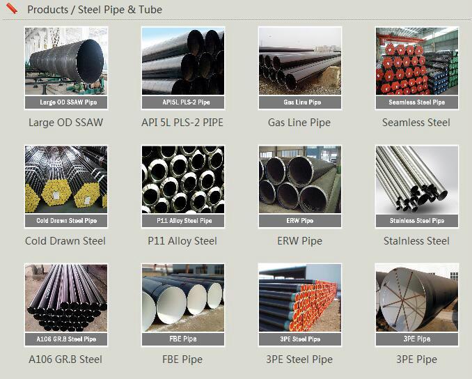steel pipe fittings & flange 4