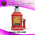 20T hydraulic air bottle jack for