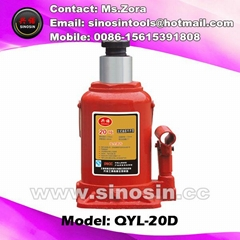 20T hydraulic air bottle jack for lifting jack auto jack to repair car