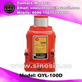 100Ton hydraulic bottle jack car lifter