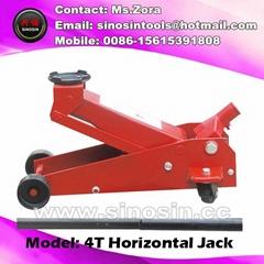 4t Heavy Duty Car Repair Tools Floor Hydraulic Trolley Jack