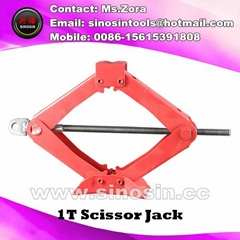 Automotive Scissor Jack 1 Ton Car Truck SUV Motorcycle ATV Jacks Lifting
