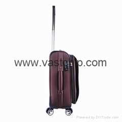 GPS Bluetooth locking smart soft luggage for trouble-free travel