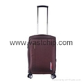 GPS Bluetooth locking smart soft luggage for trouble-free travel 2
