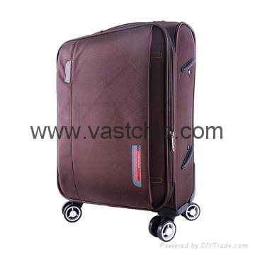 GPS Bluetooth locking smart soft luggage for trouble-free travel 4