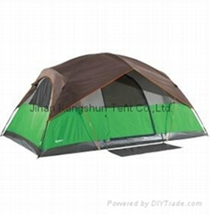 Quest Quad Pole 8 Person Dome Tent