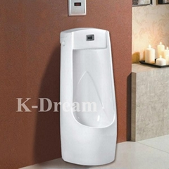 Bathroom ceramic floor mounted wc sensor urinal KD-015U