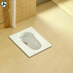 Bathroom ceramic squat toilet India style toilet