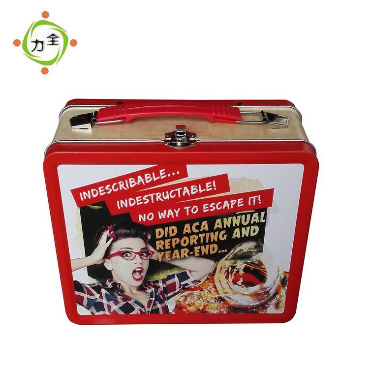 Rectangular Gift Tin Box 1