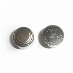 Alkaline button cell LR44