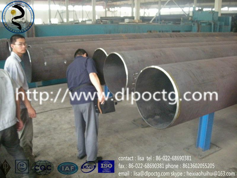 API &ASTM SSAW steel pipe used in oil and gas industry 2