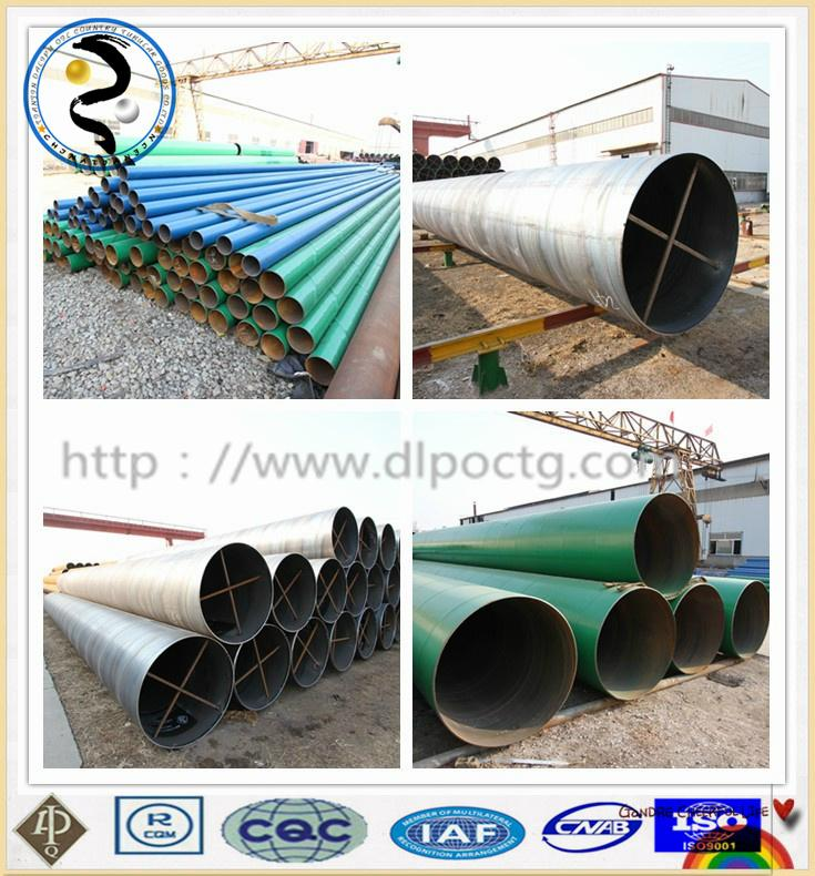 API &ASTM SSAW steel pipe used in oil and gas industry 5