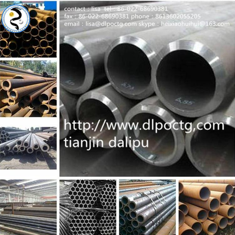 steel pipe for oil construction iron tube saw pipe submerge arc welding pipe 4