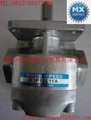 日本(NIHON SPEED)K1P齒輪泵