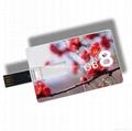 Custom usb flash drive 8gb credit card