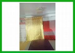 Aluminized foil bubble  mailer standard CD envelope (13 x 13 cm)