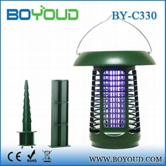durable solar mosquito insect killer lamp