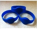 RFID silicone rubber bracelet 2