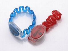 smart rfid silicone wristband