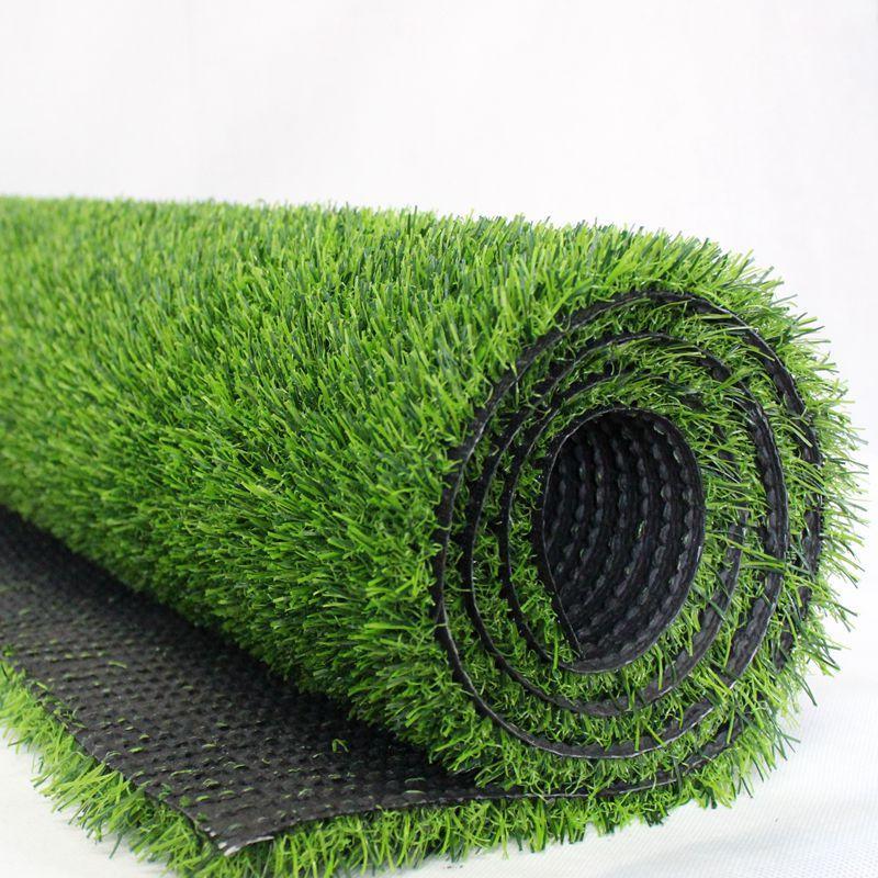 沈阳幼儿园专用加密仿真地毯式人造草坪 2