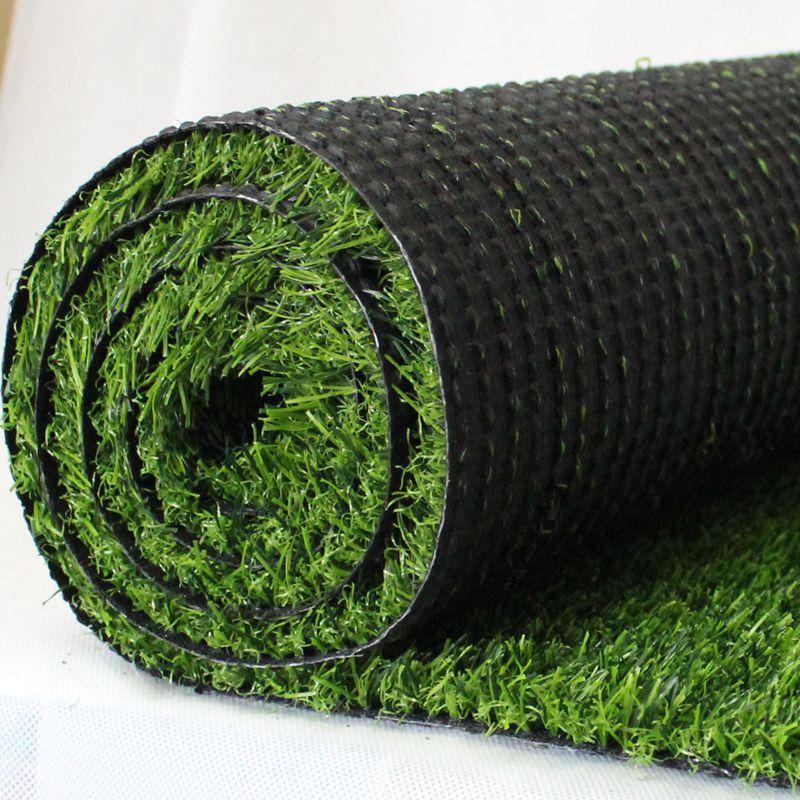沈阳幼儿园专用加密仿真地毯式人造草坪 5