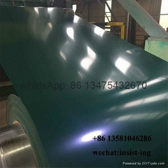 Ral6005 green color prepainted PPGI steel coil