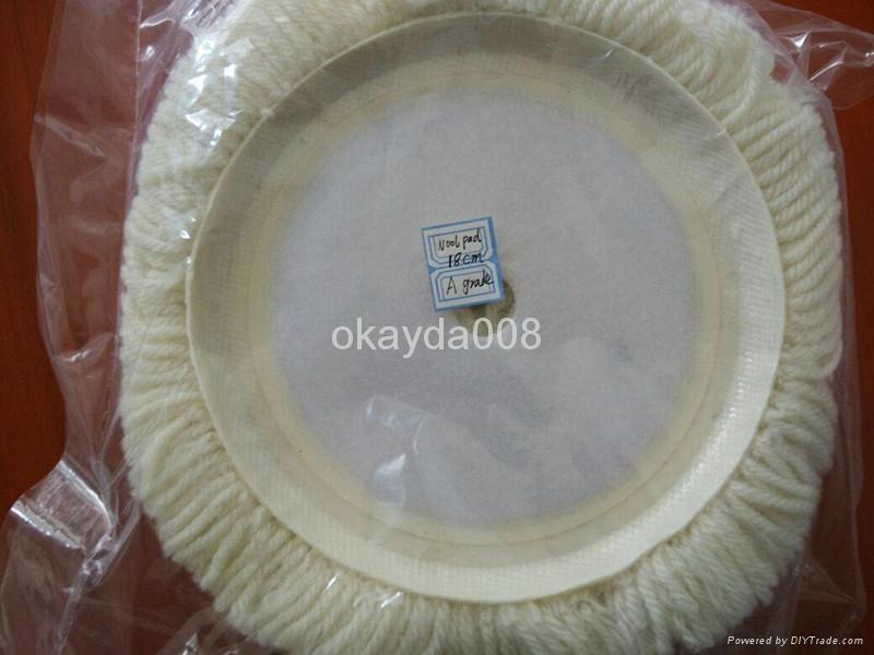 180mm wool pads for car polishing 4