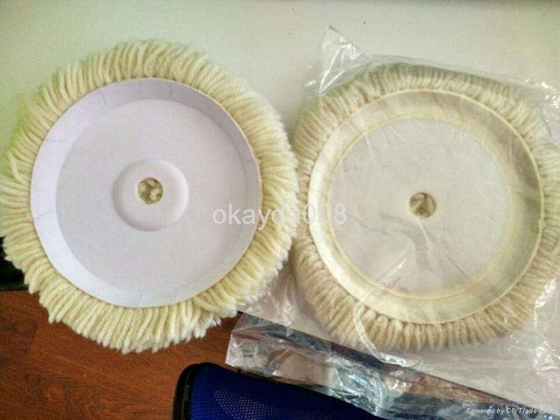 180mm wool pads for car polishing 2