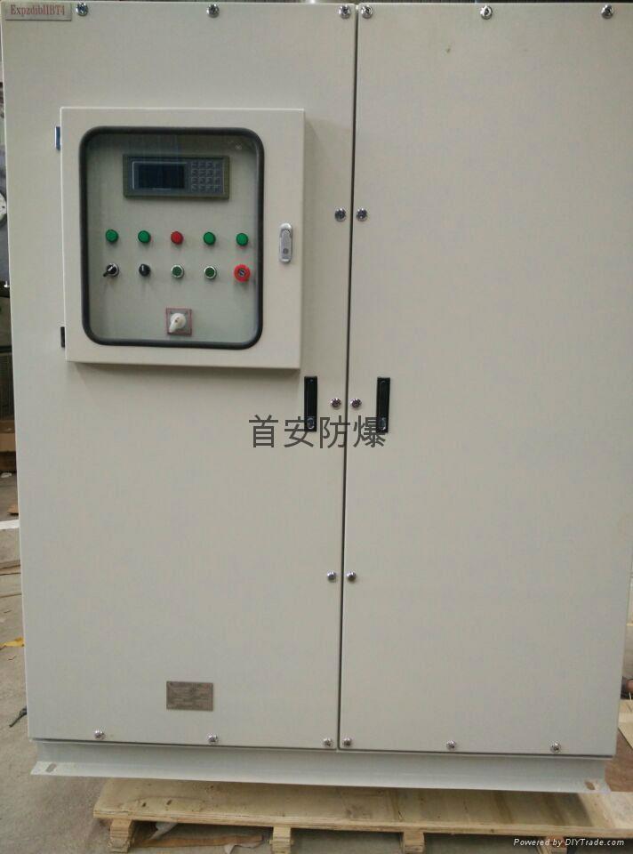 不鏽鋼正壓型防爆控制櫃,製藥廠防爆配電櫃 2
