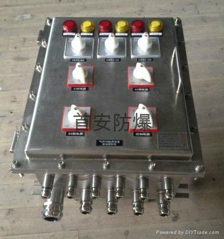 不鏽鋼防爆配電箱,鄭州防爆配電箱 3