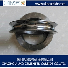 tungsten carbide guide roller descaling roller for producing wire rods