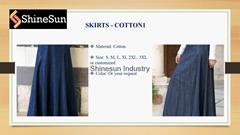 Islamic skirts for women