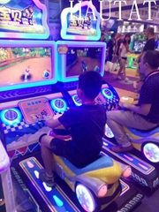 Arcade machine baby motor video game  kiddie ride
