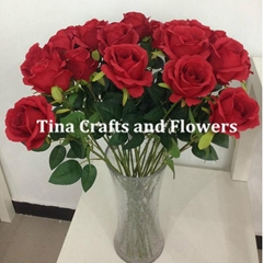 2016 Hot Sale Life like Artificial Silk Rose