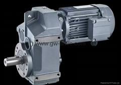 绞龙输送机平行轴齿轮减速电机