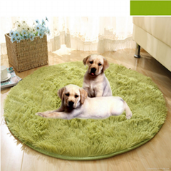 Artificial plush pet pad
