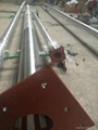 stainless steel taper flagpole