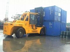 厂家直销码头作业集装箱25吨柴油叉车